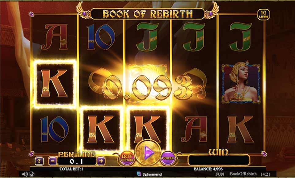 Book Rebirth Win