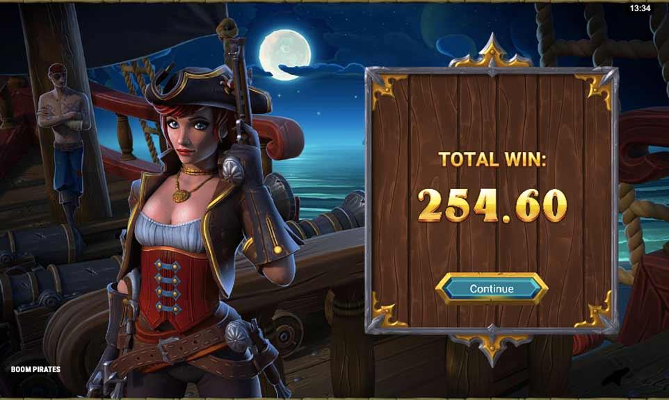 Boom Pirates Bonus End