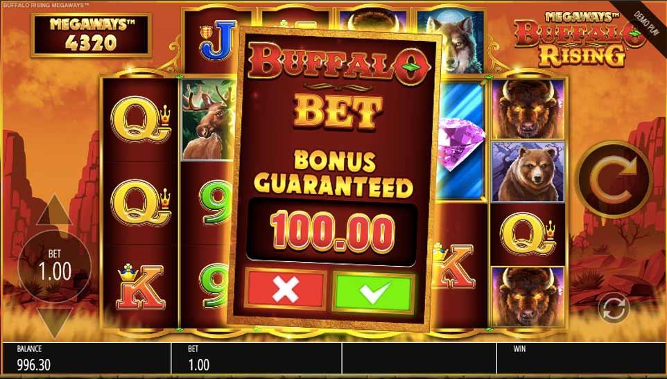 Buffalo Rising Bonus Buy