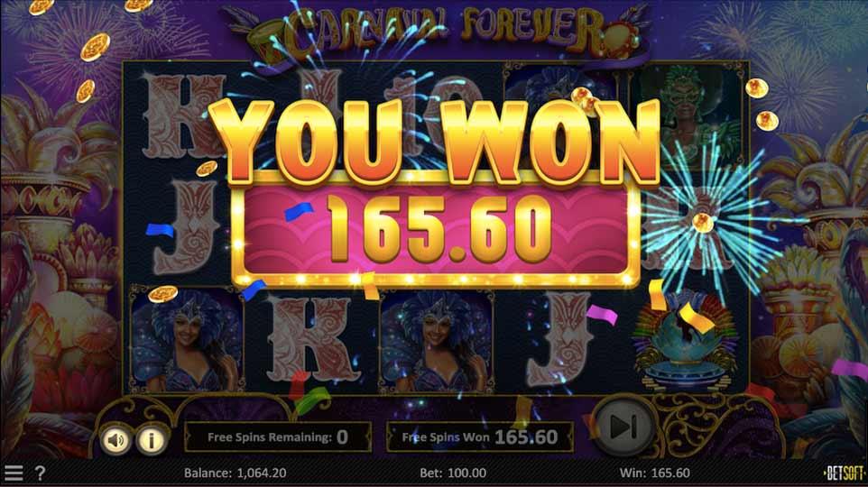 Carnaval Forever Bonus End