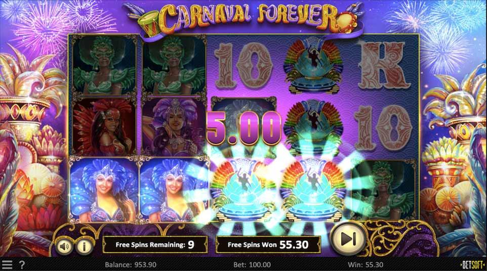 Carnaval Forever Bonus Play
