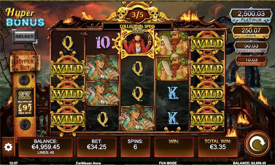 Carribean Anne Bonus Play