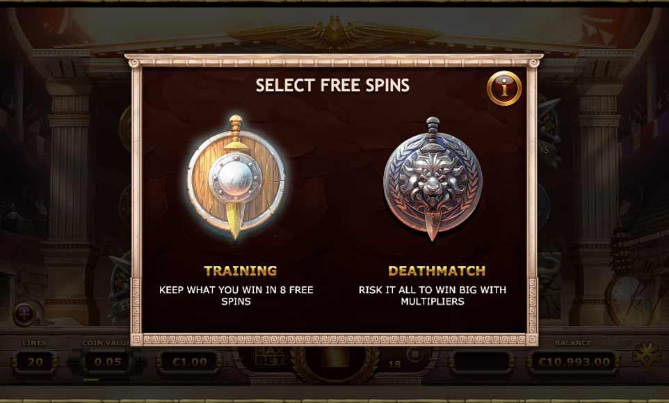 Champions Rome Bonus Choice