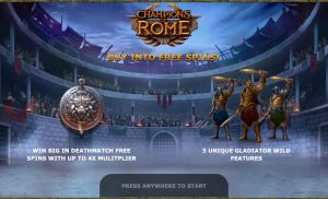 Champions Rome Intro