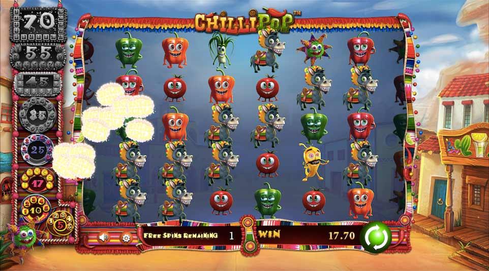 Chilli Pop Bonus Play