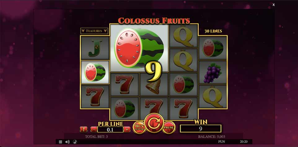 Colossus Fruits Win