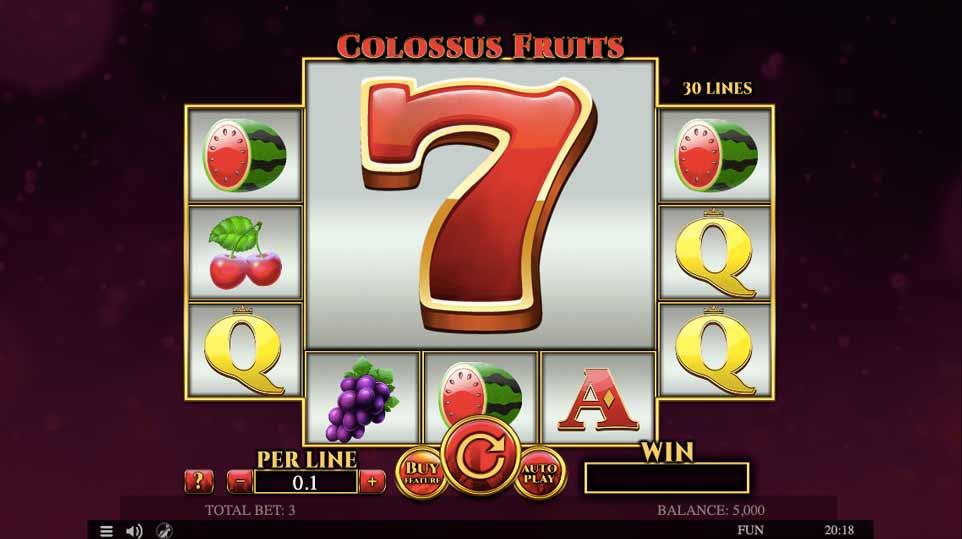 Colossus Fruits Start