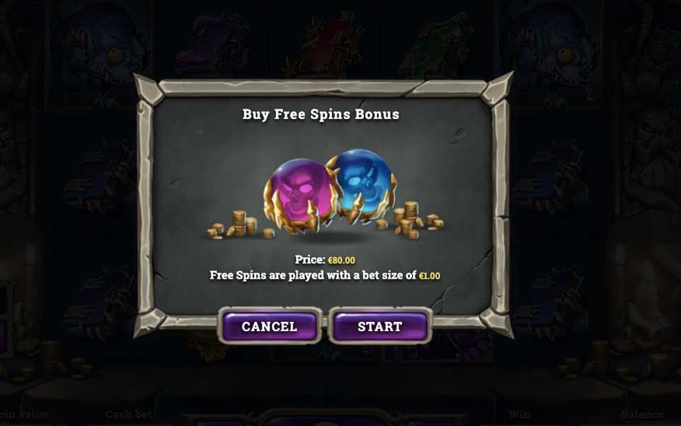 Dark Vortex Buy Bonus