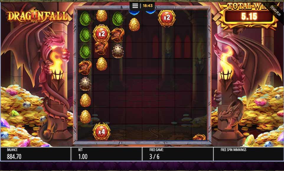 Dragon Fall Bonus Play