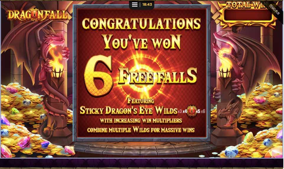 Dragon Fall Bonus Start