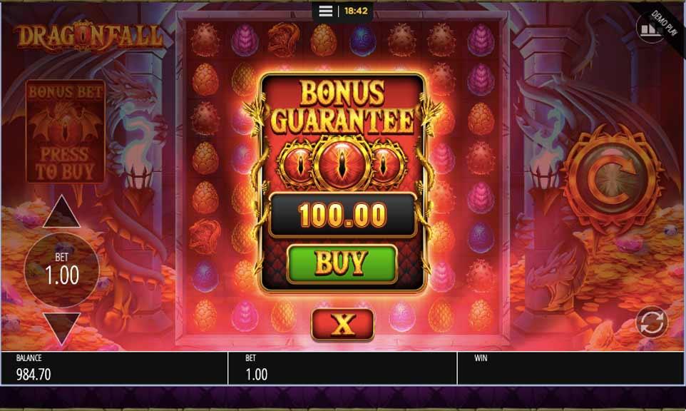 Dragon Fall Buy Bonus