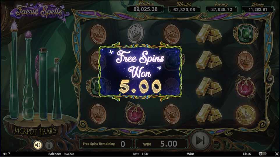 Faerie Spells Bonus End