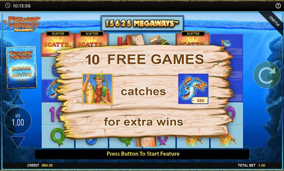 Fishin Frenzy Free Games