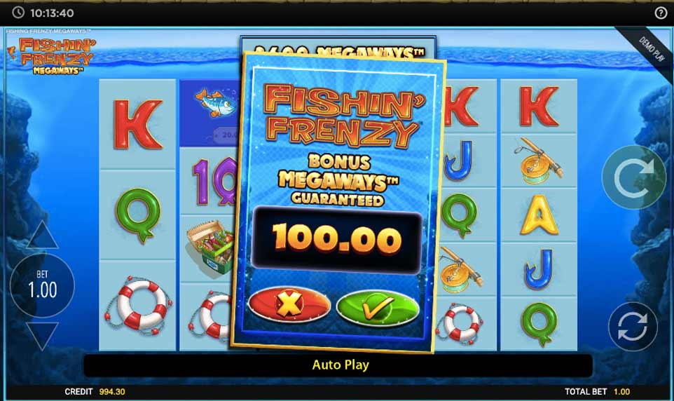 Fishin Frenzy Buy Bonus