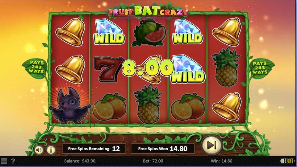 Fruit Bat Bonus Play
