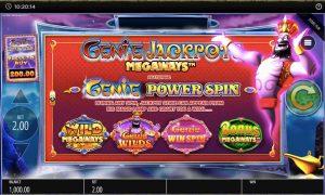 Genie Jackpots Intro
