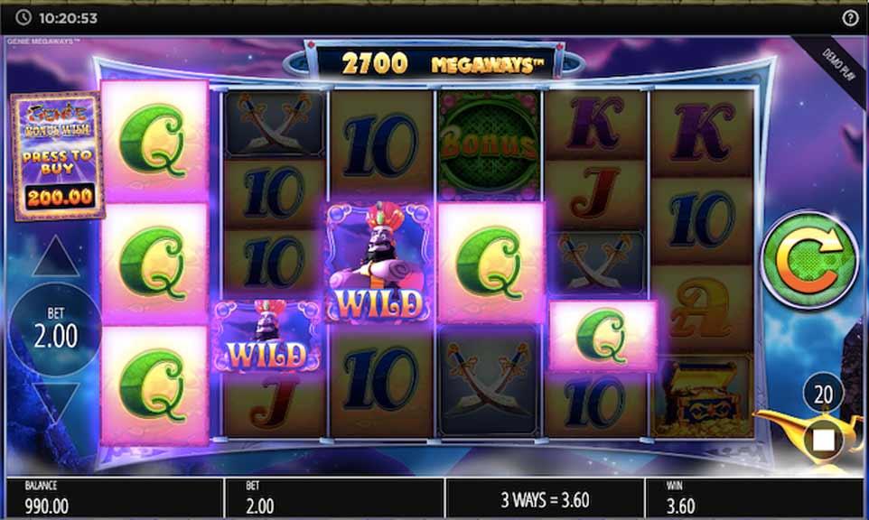 Genie Jackpots win