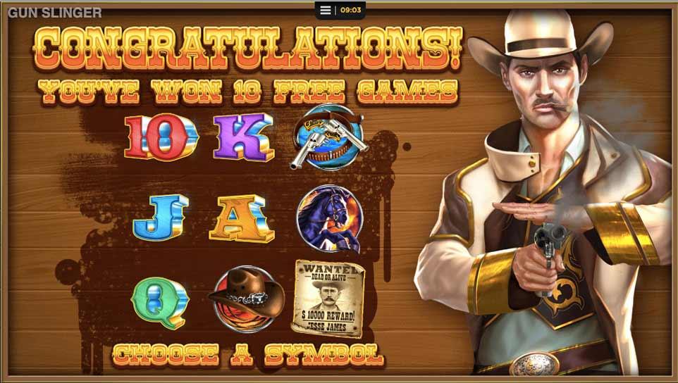Gunslinger Bonus Choice