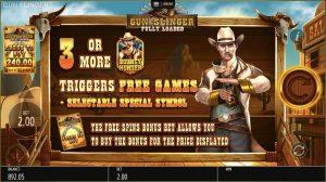 Gunslinger Intro
