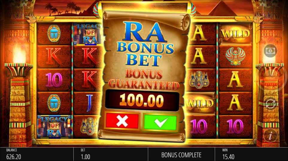 Legacy Ra Buy Bonus
