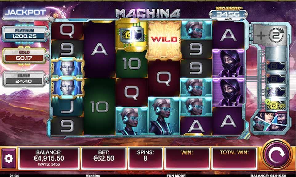 Machina Megaways Bonus Play