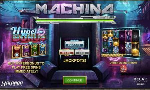Machina Megaways intro