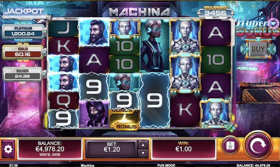 Machina Megaways Win