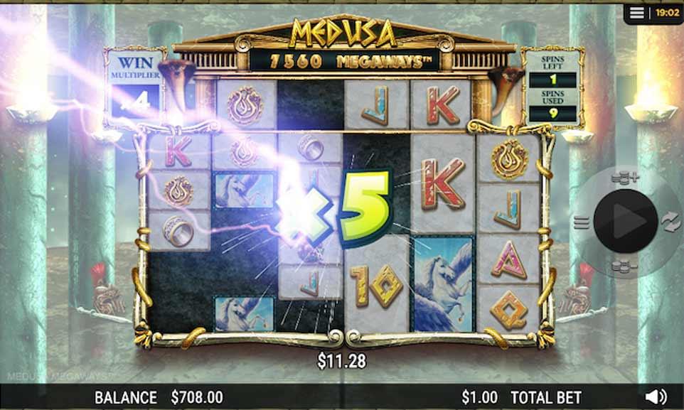 Medusa Megaways Bonus Play