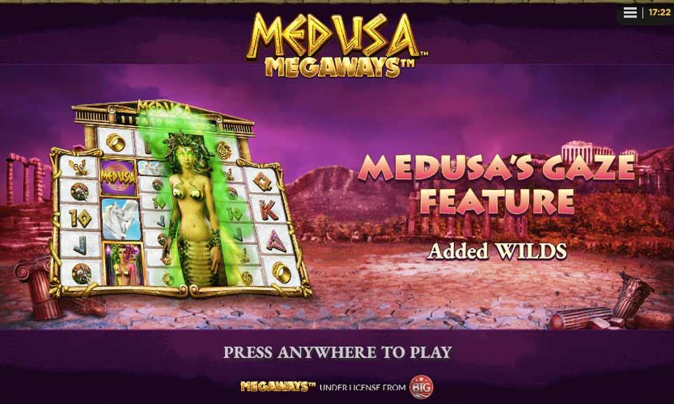 Medusa Megaways Intro