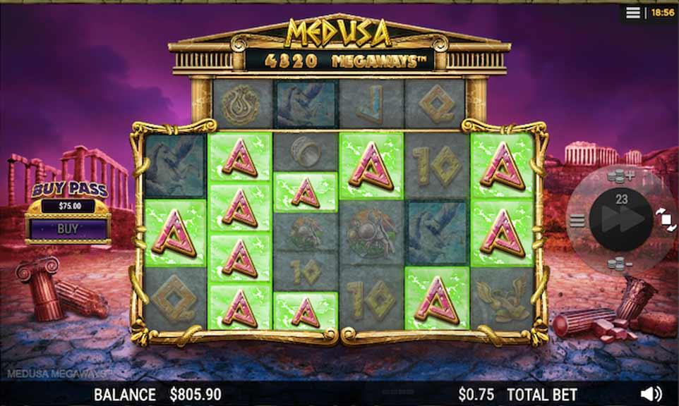 Medusa Megaways Win