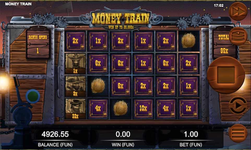 Money Train Bonus Play