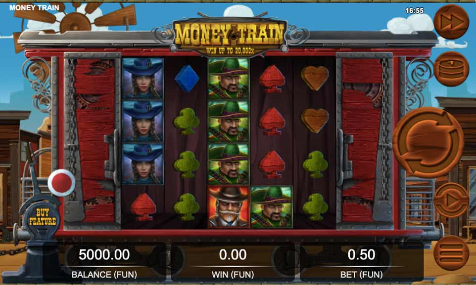 Money Train Start