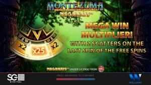 Montezuma Megaways Intro