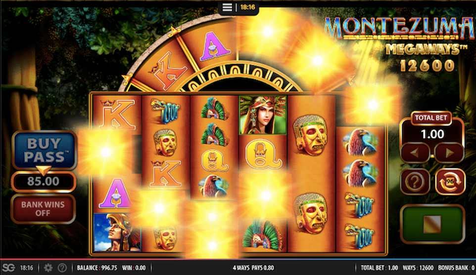Montezuma Megaways Win