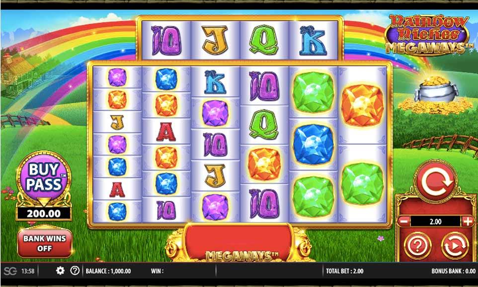 Rainbow Riches Start