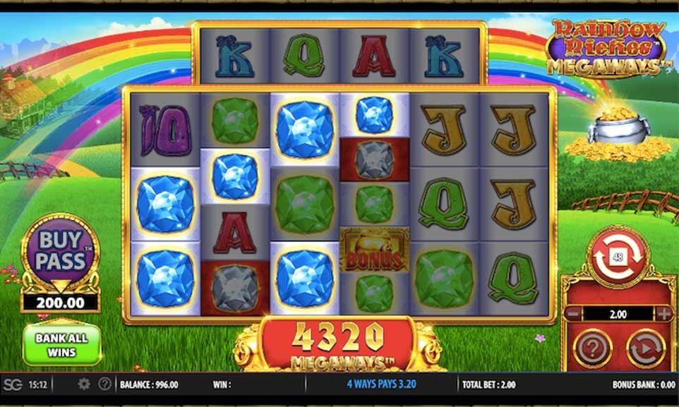 Rainbow Riches Win