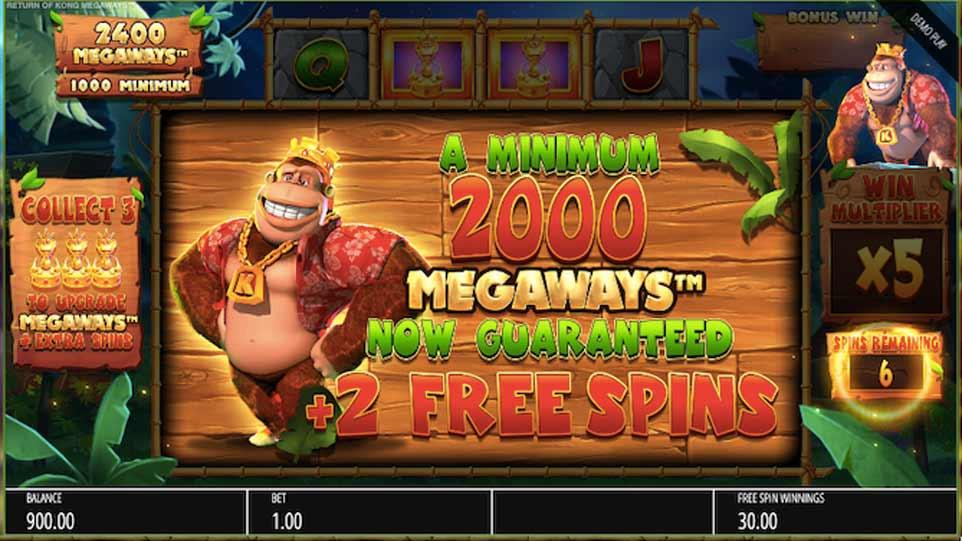 Return Kong Bonus Feature