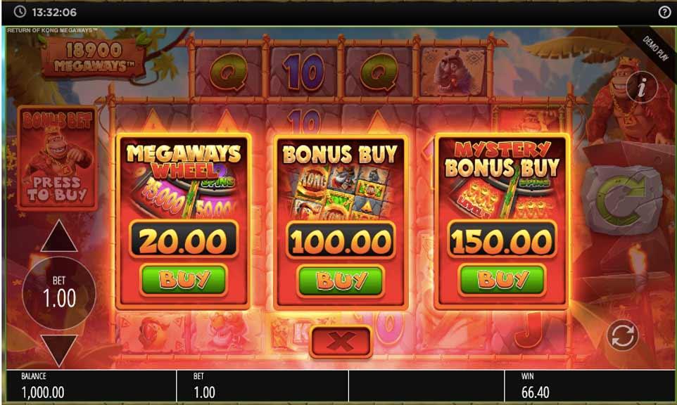 Return Kong Buy Bonus