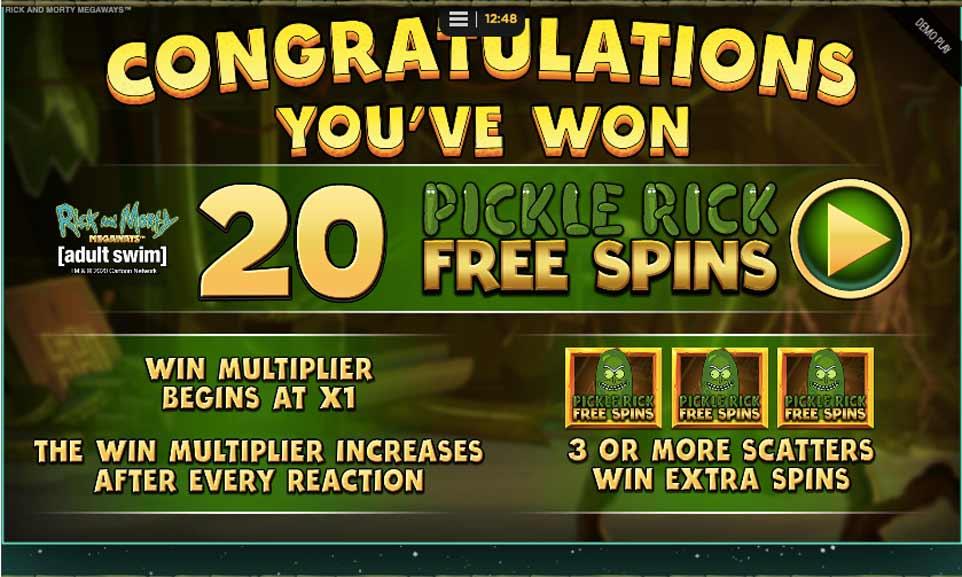 Rick Morty Bonus Start