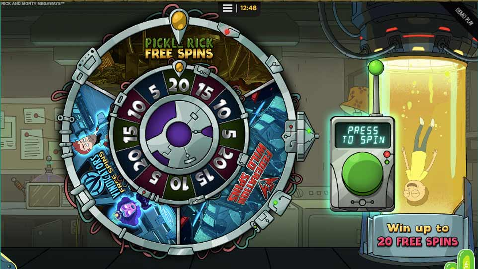 Rick Morty Bonus Wheel
