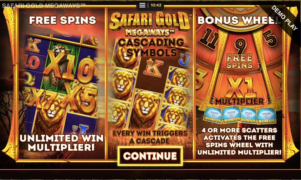 Safari Gold Intro
