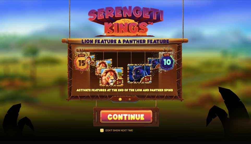 Serengeti Kings Intro
