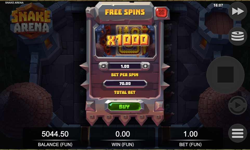 Snake Arena Bonus Buy