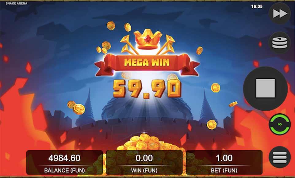 Snake Arena Bonus Win