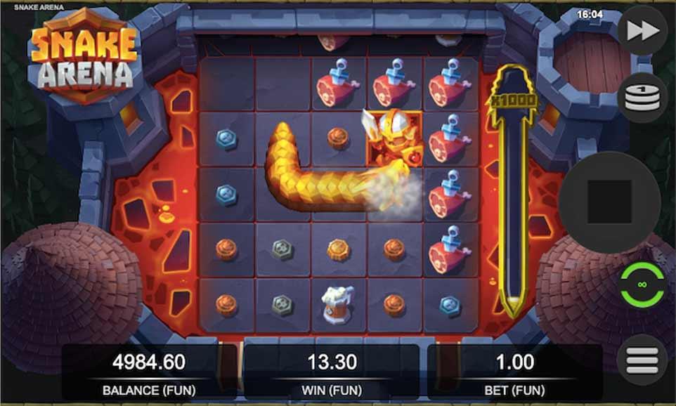 Snake Arena Bonus Play