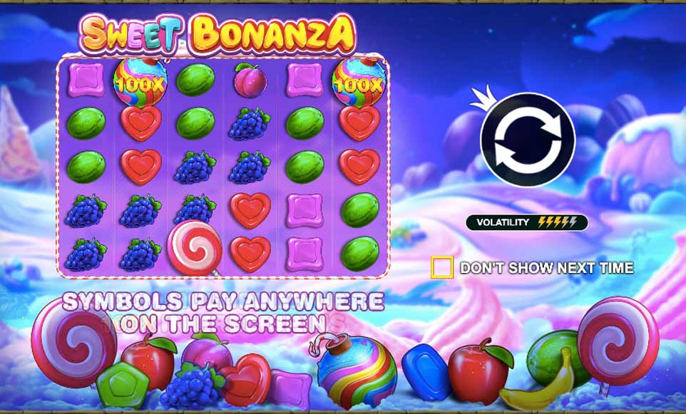 Sweet Bonanza Intro