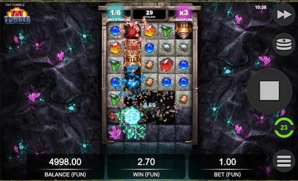 TNT Tumble Bonus Play