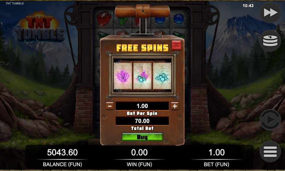 TNT Tumble Buy Bonus
