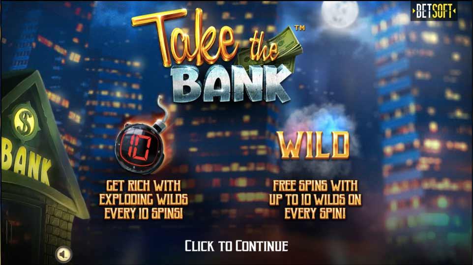 Take the Bank Intro