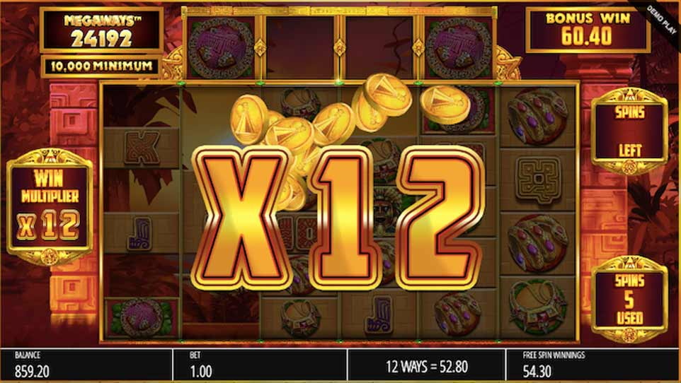 Temple treasure Bonus Multiplier